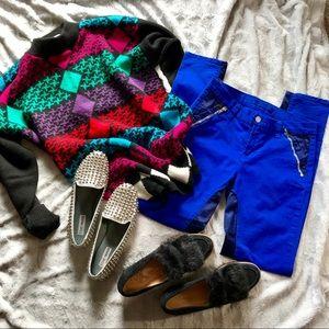 J Brand Blue Nikko Women's Skinny Pants